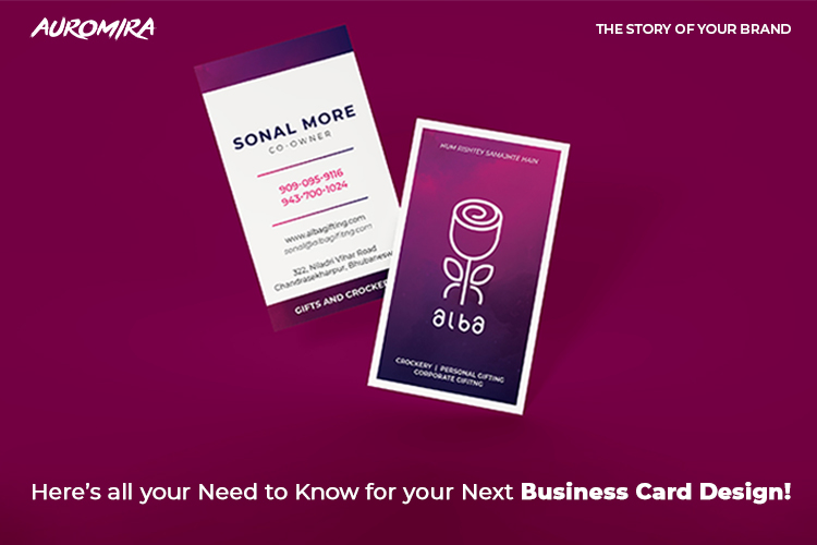 best business card design in Bhubaneswar